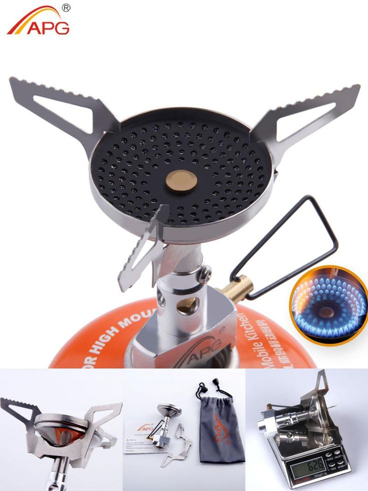 [Visit to Buy] APG Outdoor Anti-scald Portable Gas Stoves Best Mini Camping Cooking Equipment #Advertisement