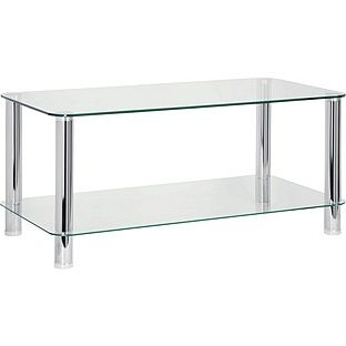 Buy Hygena Matrix Coffee Table - Clear Glass at Argos.co.uk - Your Online Shop for Occasional and coffee tables.