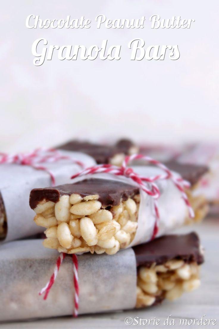 Storie da mordere: Barrette di cerali con cioccolato e burro di arachidi homemade
