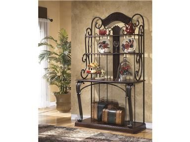 Shop For Ashley Bakers Rack, D345 76, And Other Kitchen Bakers Racks At