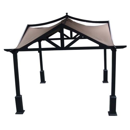 like this gazebo also - giving lots of extra shade on the patio is a plus: 10Ft Squares, Roth 10 Ft, Brown Steel, Allen Roth, Roth 10Ft, Steel Gazebo, Exten Kits, Standards Gazebo, Squares Standards