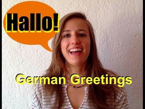 GERMAN LESSON 1: Learn German for Beginners - German Greetings - YouTube
