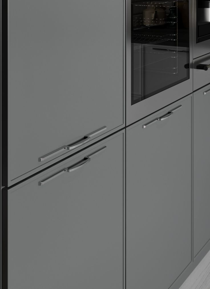 Sleek And Modern Handles Are Perfectly Suited To Quadra.