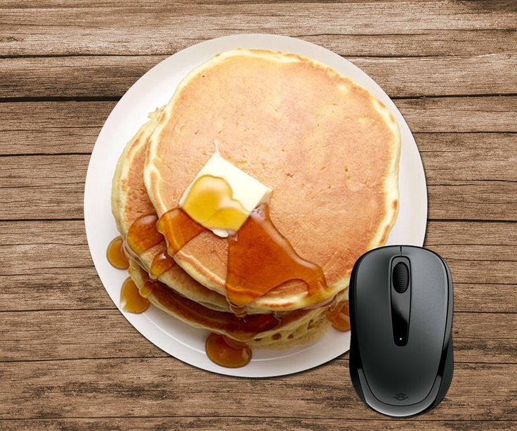 Pancakes Mouse Pad by CustomProductsGalore on Etsy