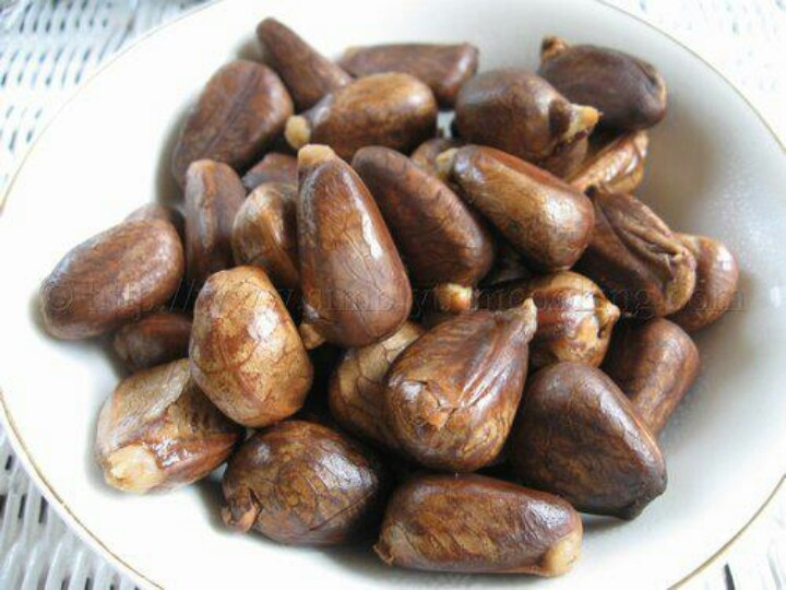 Chataigne seeds better known as farting pills caribbean
