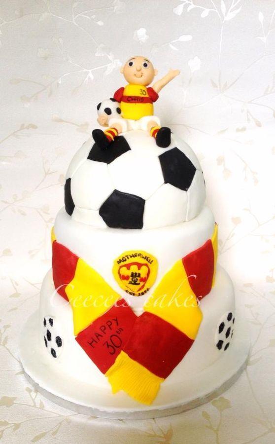 Motherwell Fc Birthday Cake