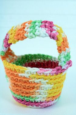 how to make easter egg baskets