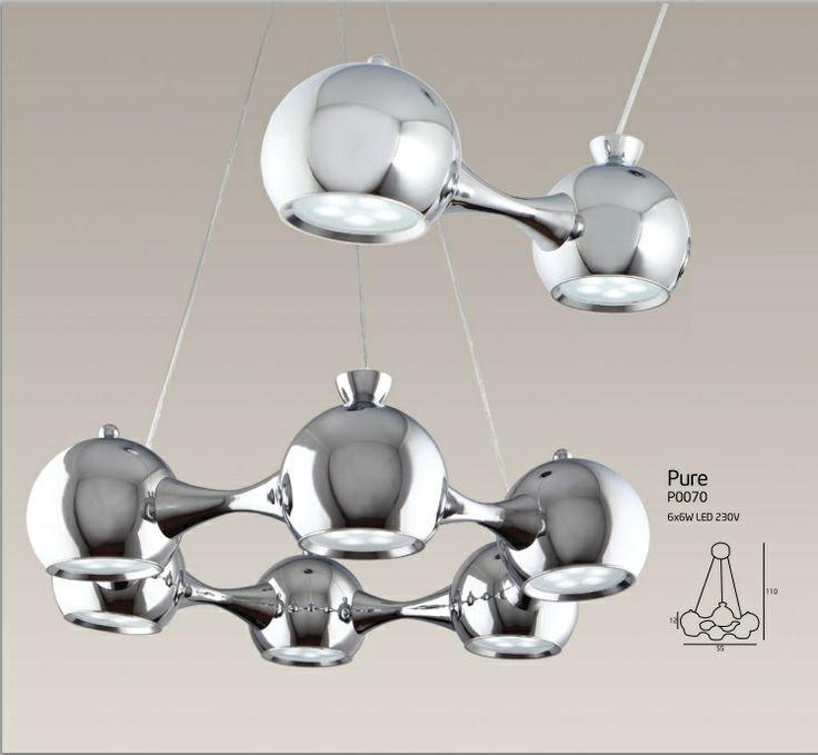 lampa wisząca LED Maxlight Pure