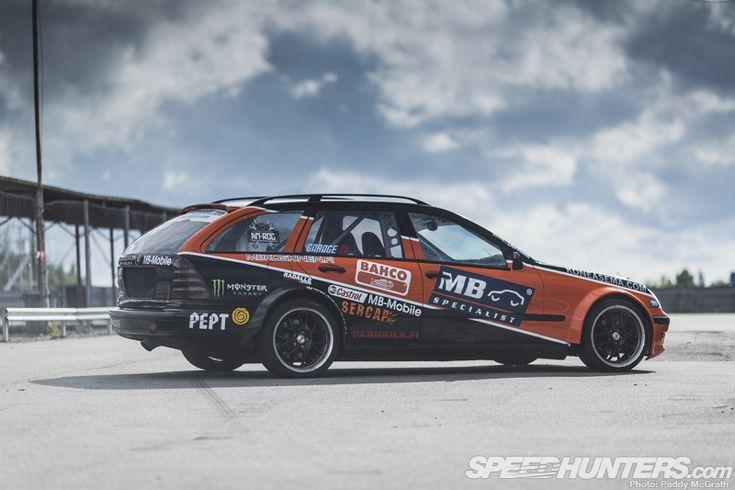 Black Smoke Racing Mercedes W203 Wagon #MercedesBenzofHuntValley