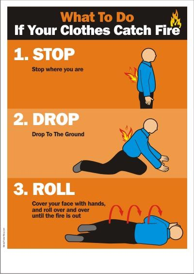 Stop, Drop and Roll