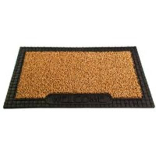 "Grassworx 10371221 Cocoa (Brown) Door Mat, 18"" x 30"""