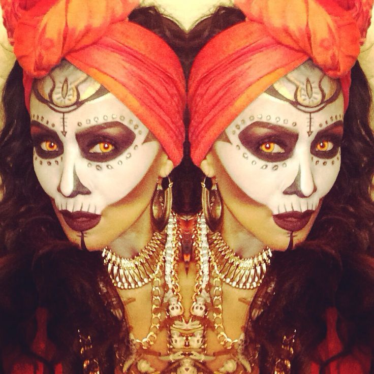 voodoo priestess makeup - Google Search
