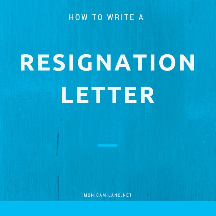17 migliori idee su How To Write A Resignation Letter su Pinterest - what to avoid writing resignation letter