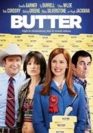 A slightly dark comedy set in Iowa amidst the little-known world of butter sculpting, 'Butter' casts Garner as the ambitious wife of Ty Burrell's 15-time sculpting champion. http://thevideostation.com/blog/2012/12/06/butter-and-the-odd-life-of-timothy-green-reviewed-by-david/#