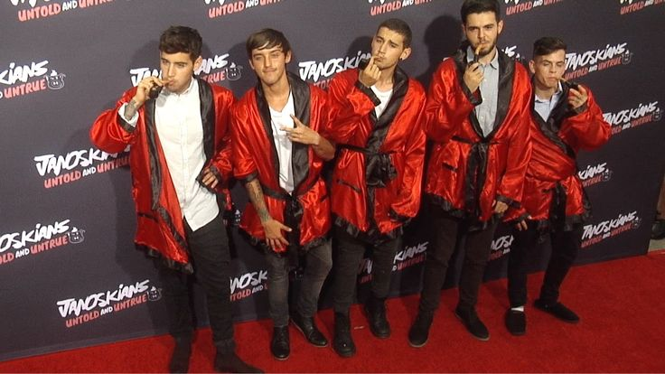 Janoskians: Untold and Untrue Los Angeles Premiere Red Carpet Arrivals