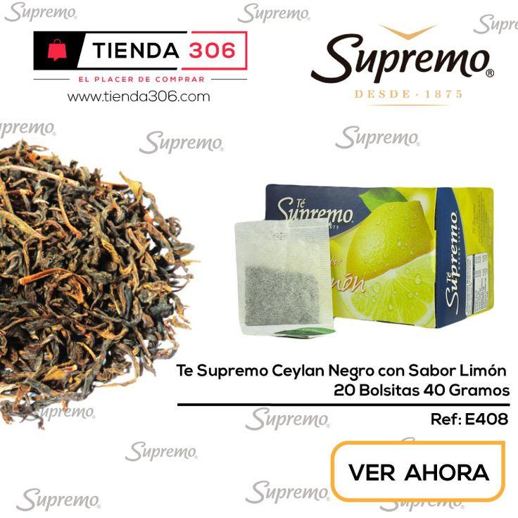 Reduce los Niveles de Colesterol - Té Supremo Ceylán Negro Limón Ref.: E408 📞320 574 96 98 Ver Ahora: http://bit.ly/2zWckfb