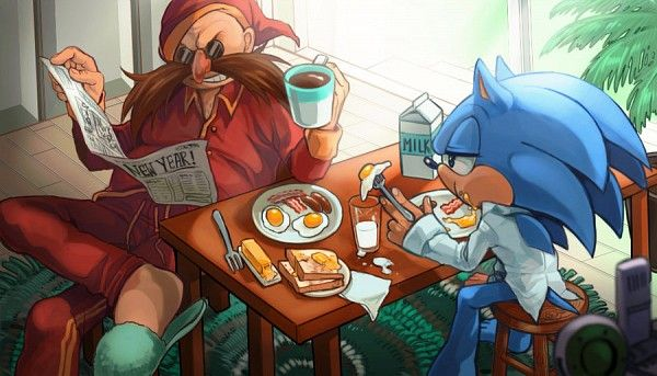 Tags: Anime, Sonic the Hedgehog, Sonic the Hedgehog (Character), Doctor Eggman, Team Sonic