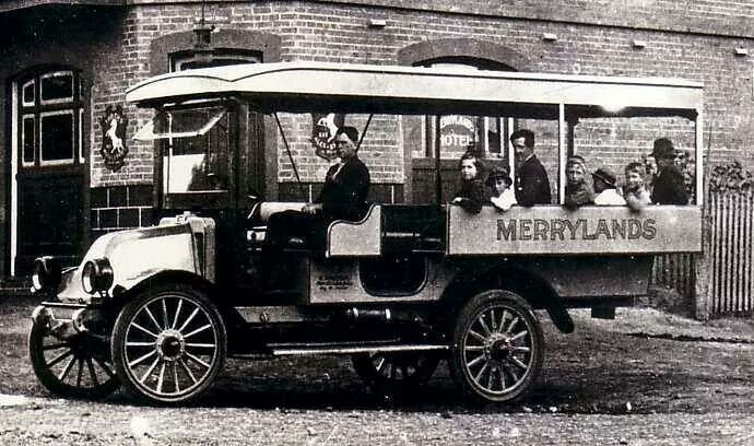 Early form of road transport in Merrylands.A♥W History Parramatta NSW