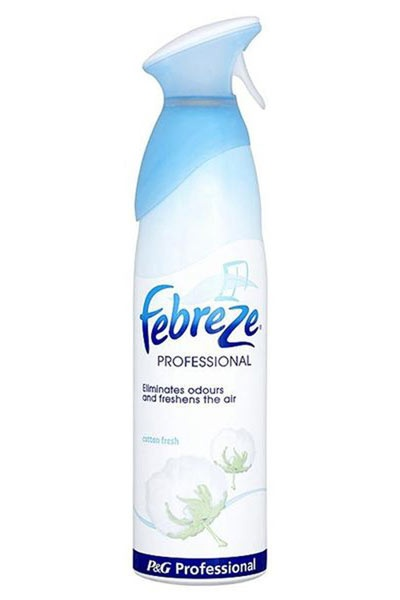 Febreze Air Care Cotton Fresh 400ml - Mist & Refresh is a new aerosol air freshener which, unlike other air fresheners, combines odour removal with a light fragrance to truly refresh your home.
