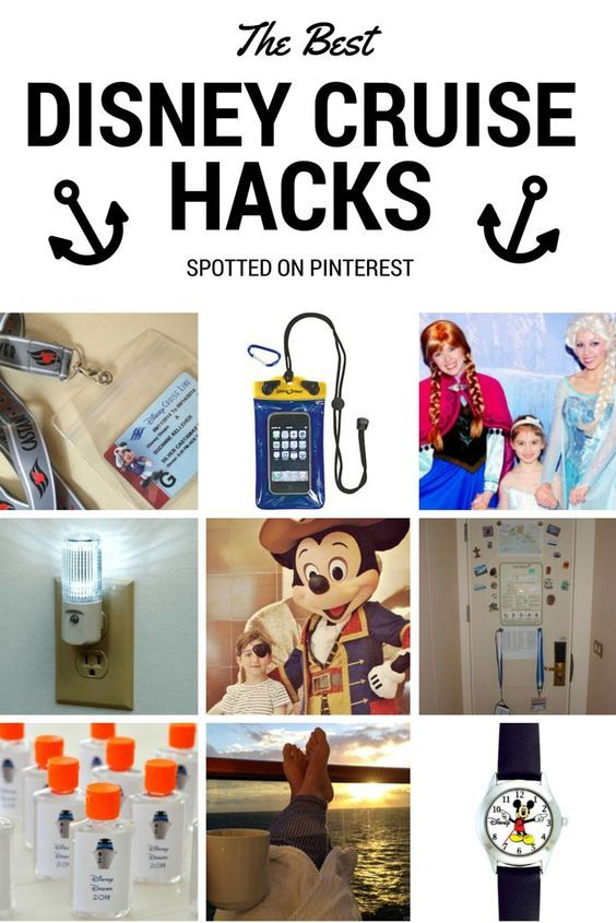 We scoured Pinterest for the best Disney Cruise hacks