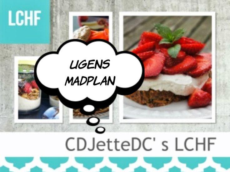 CDJetteDC's LCHF: ☆ Madplaner ☆