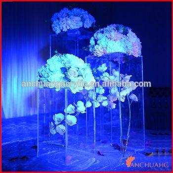 Plastic Acrylic Wedding Columns - Buy Wedding Pedestal Columns,Wedding Arches Columns,Plastic Wedding Columns Product on Alibaba.com