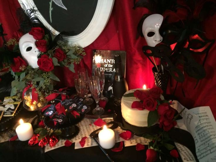 Phantom Of The Opera Cocktail Party Ideas Photo 2 Of 13