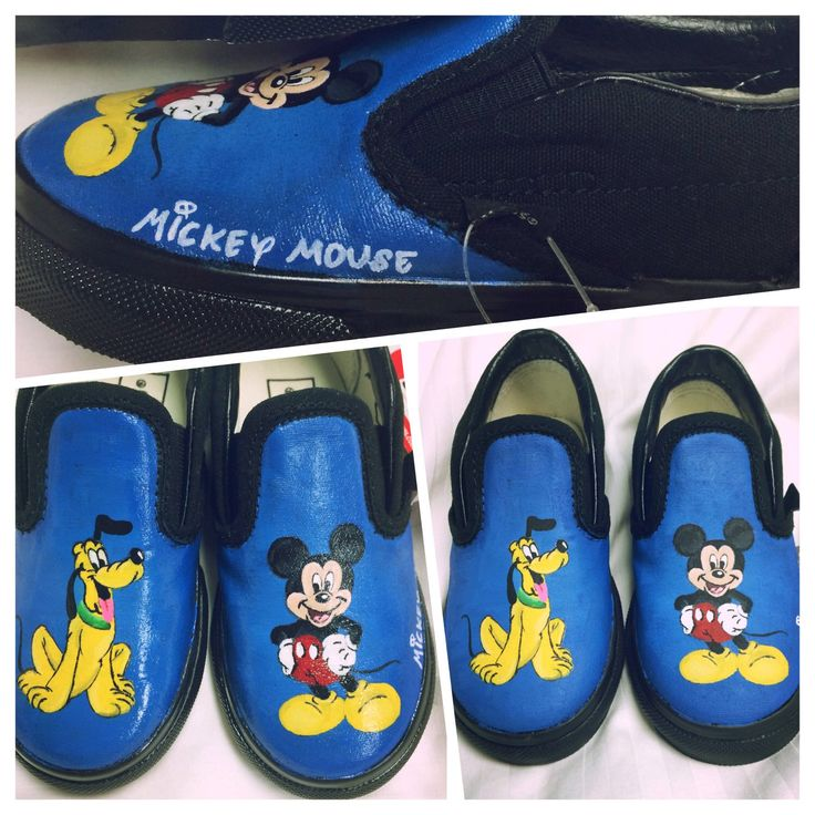 Mickey Mouse Vans for Kids by KaySoles on Etsy https://www.etsy.com/listing/216947809/mickey-mouse-vans-for-kids