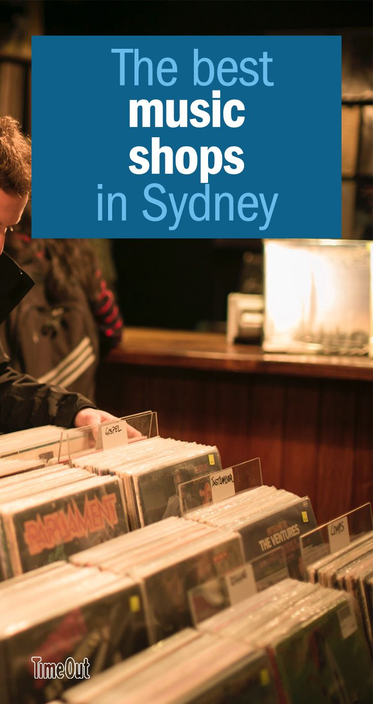 From browsing to posing to serious collecting, here are the best music stores in Sydney