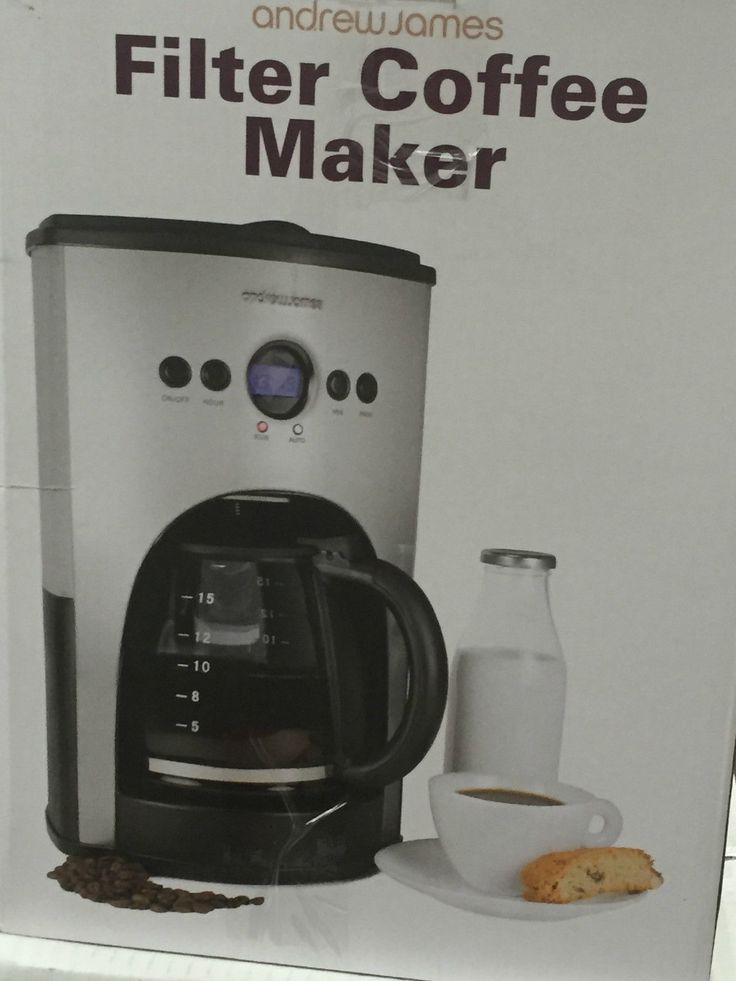 Andrew james #aj000002 digital filter #coffee #machine, silver (n),  View more on the LINK: http://www.zeppy.io/product/gb/2/172335972959/