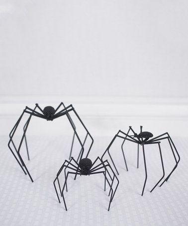 Love this Long-Legged Spider Figurine Set by Adams & Co. on #zulily! #zulilyfinds