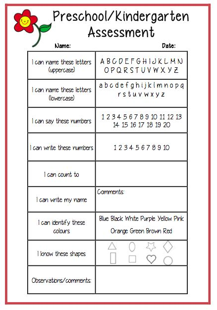 Best 25+ Preschool assessment forms ideas on Pinterest Preschool - sample peer evaluation form
