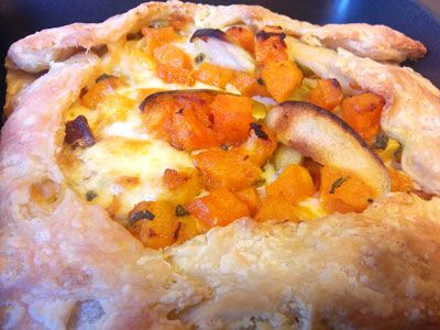 Butternut Squash and Apple Galette