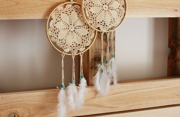 doilies crafts {lovely idea to do with the doilies grandma left us}