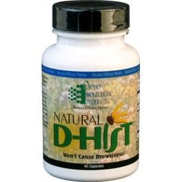 Natural D-Hist 40 Veg Capsules - Natural relief from allergies