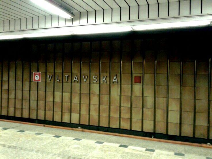 Vltavská