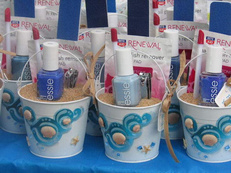 Beach Baby Shower Favors