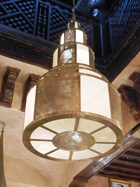 superb pendant light or lamp and its beautiful openwork patterns