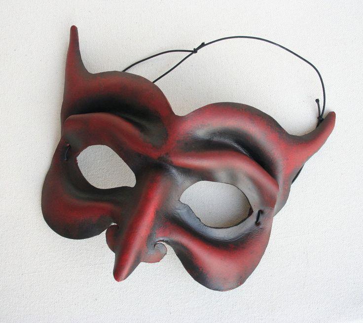 Red Devil Mask by nondecaf.deviantart.com on @deviantART