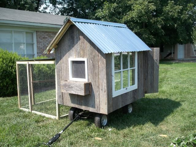 The Nags Head Chicken Coop Tractor   BackYard Chickens Community