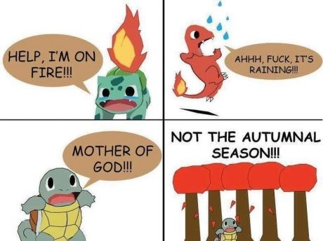 Haha, some pokemon weaknesses just don't make sense