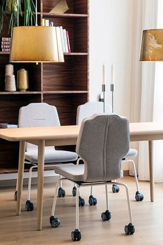"Ever since 1977, the human body has been RH's greatest source of inspiration. With the focus on people, we produce chairs that are designed to help you do more and perform better. RH calls it ""designed for human perfomance"""