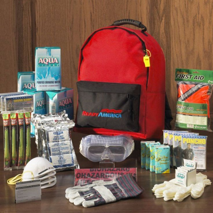 Ready America Emergency Backpack - 4 Person - 70385
