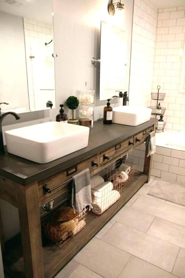 Awesome Bathroom Sink Cabinet Ideas With Images Bathroom