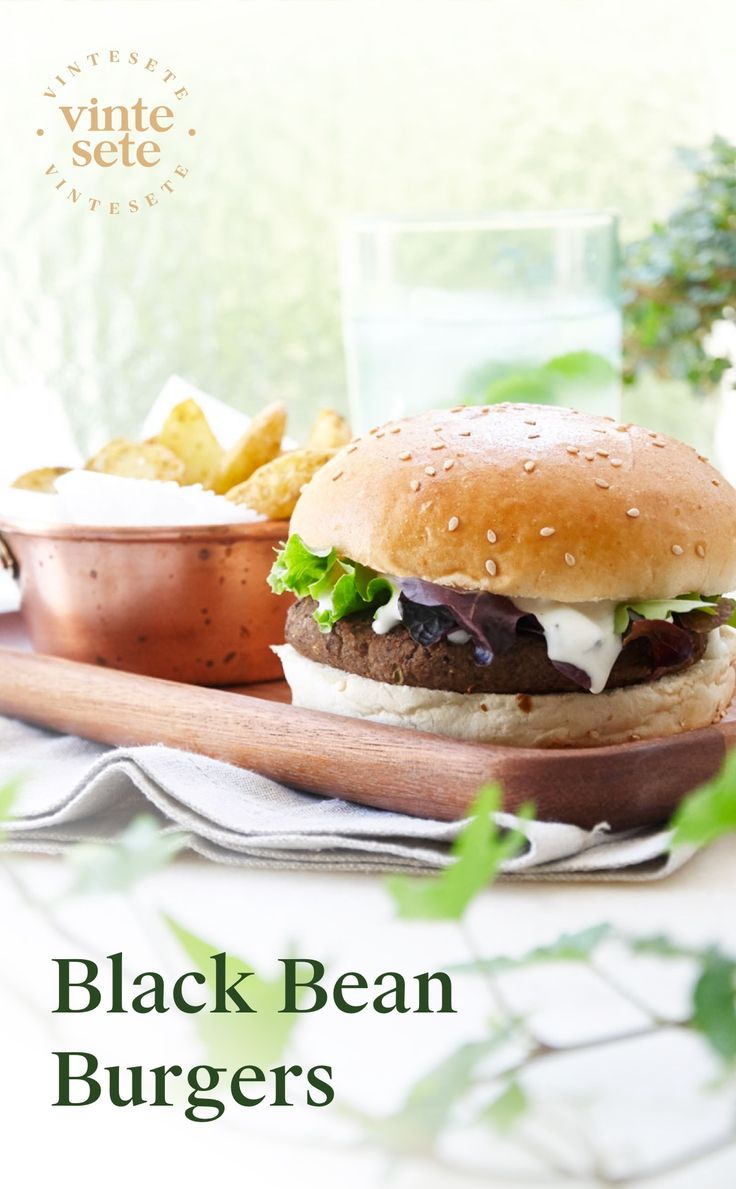 The simplest and most delicious Black Bean Burger recipe