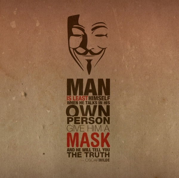 Truth Is Behind The Mask #quotes #inspirational