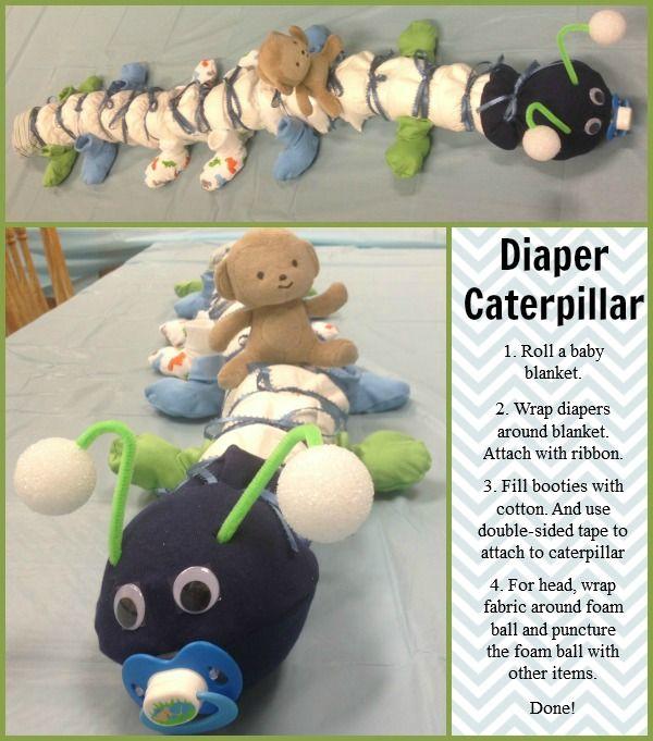 Diaper Caterpillar | Ribbons.com