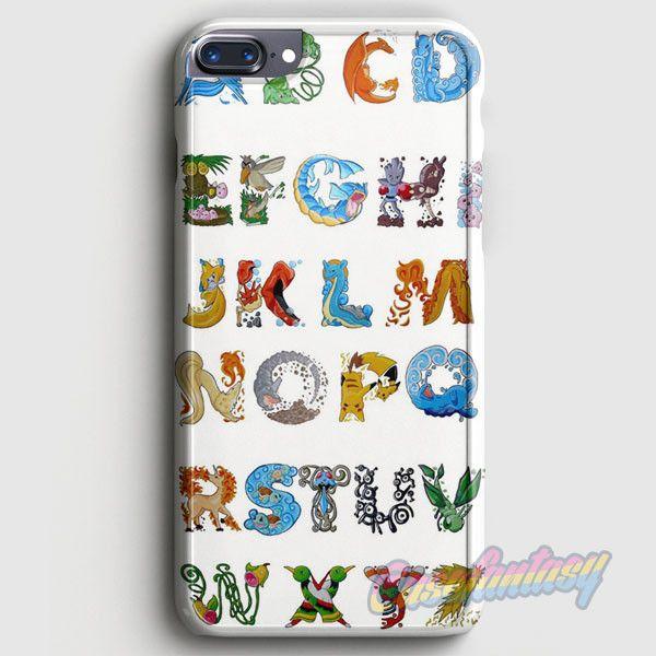 Pokemon Alphabet iPhone 7 Plus Case | casefantasy