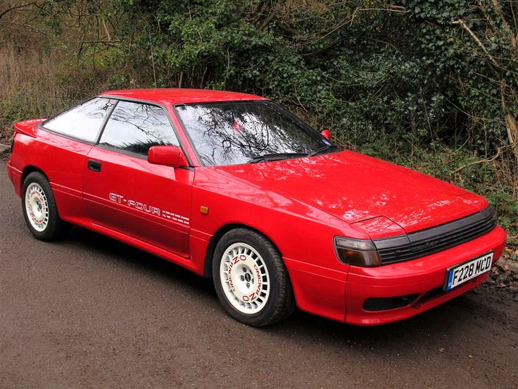 Toyota Celica GT4 ST165 | Classic Cars - Toyota ...