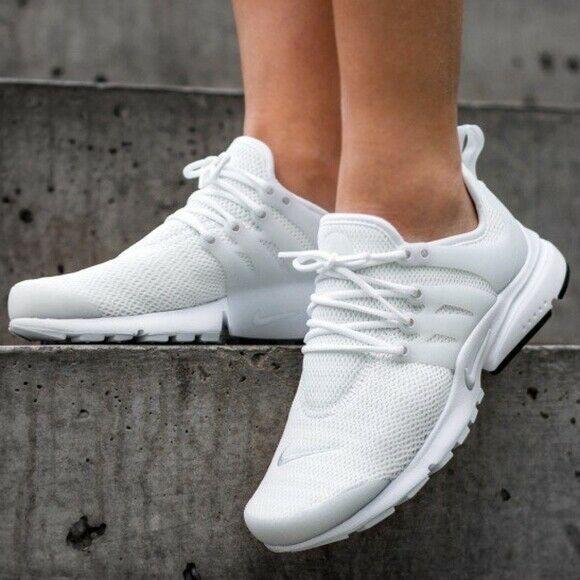 Advertisement)eBay Womens Nike Air Presto 878068 100 White